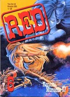 Copertina RED LIVING ON THE EDGE n.6 - RED LIVING ON THE EDGE 6, STAR COMICS