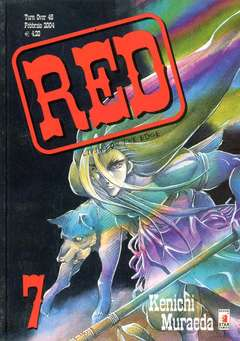 Copertina RED LIVING ON THE EDGE n.7 - RED LIVING ON THE EDGE 7, STAR COMICS
