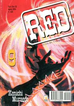 Copertina RED LIVING ON THE EDGE n.9 - RED LIVING ON THE EDGE 9, STAR COMICS
