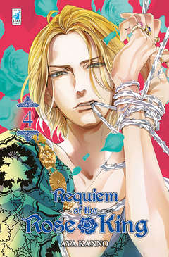 Copertina REQUIEM OF THE ROSE KING n.4 - REQUIEM OF THE ROSE KING 4, STAR COMICS