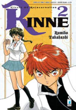 Copertina RINNE n.2 - RINNE 2, STAR COMICS