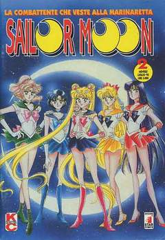 Copertina SAILOR MOON n.2 - SAILOR MOON                  2, STAR COMICS