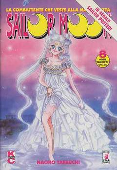 Copertina SAILOR MOON n.8 - SAILOR MOON                  8, STAR COMICS