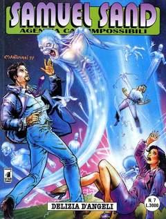 Copertina SAMUEL SAND n.7 - DELIZIA D'ANGELI, STAR COMICS