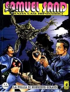 Copertina SAMUEL SAND n.4 - LA FOLLIA DI MONSIEUR GIRAUD, STAR COMICS