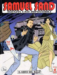 Copertina SAMUEL SAND n.1 - SAMUEL SAND                  1, STAR COMICS