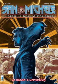 Copertina SAN MICHELE (m6) n.5 - LA REALTA' E L'APPARENZA, STAR COMICS
