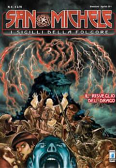 Copertina SAN MICHELE (m6) n.6 - IL RISVEGLIO DEL DRAGO, STAR COMICS