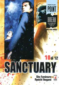 Copertina SANCTURARY n.10 - SANCTUARY 10 (DI 12), STAR COMICS