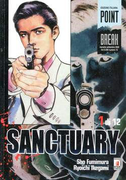 Copertina SANCTURARY n.1 - SANCTURARY 1 (DI 12), STAR COMICS