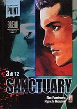 Copertina SANCTURARY n.3 - SANCTUARY 3, STAR COMICS