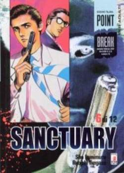 Copertina SANCTURARY n.6 - SANCTUARY 6, STAR COMICS