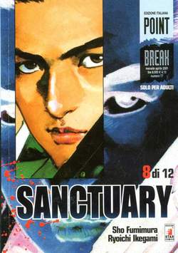 Copertina SANCTURARY n.8 - SANCTUARY 8, STAR COMICS
