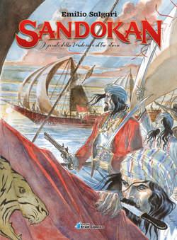 Copertina SANDOKAN n.3 - I PIRATI DELLA MALESIA E ALTRE STORIE, STAR COMICS