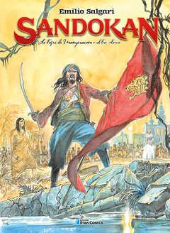 Copertina SANDOKAN n.1 - LA TIGRE DI MOMPRACEM E ALTRE STORIE, STAR COMICS