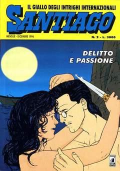 Copertina SANTIAGO n.2 - DELITTO E PASSIONE, STAR COMICS