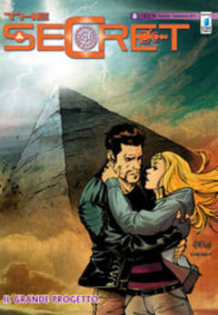 Copertina SECRET n.8 - IL GRANDE PROGETTO, STAR COMICS