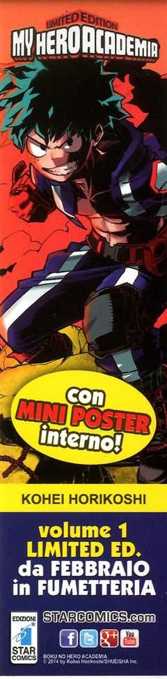 Copertina SEGNALIBRI STAR OMAGGIO n.3 - MY HERO ACADEMIA, STAR COMICS