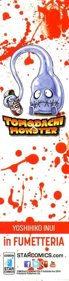 Copertina SEGNALIBRI STAR OMAGGIO n.8 - TOMODACHI MONSTER, STAR COMICS