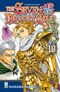 Copertina SEVEN DEADLY SINS n.10 - THE SEVEN DEADLY SINS, STAR COMICS