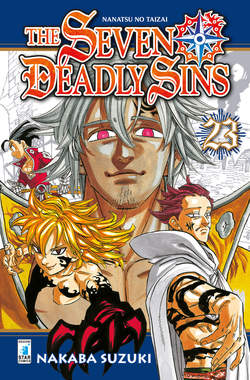 Copertina SEVEN DEADLY SINS n.23 - SEVEN DEADLY SINS, STAR COMICS
