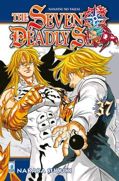 Copertina SEVEN DEADLY SINS n.37 - STARDUST 93, STAR COMICS
