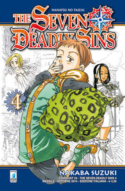 Copertina SEVEN DEADLY SINS n.4 - THE SEVEN DEADLY SINS, STAR COMICS