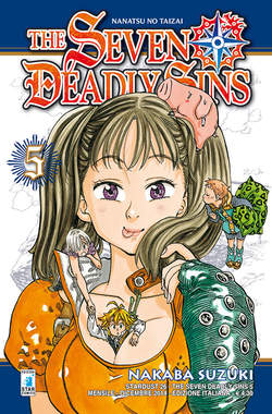Copertina SEVEN DEADLY SINS n.5 - THE SEVEN DEADLY SINS, STAR COMICS