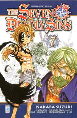 Copertina SEVEN DEADLY SINS n.7 - THE SEVEN DEADLY SINS, STAR COMICS