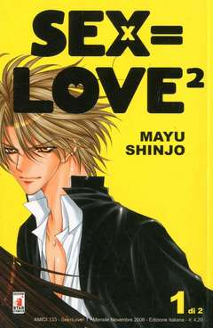 Copertina SEX=LOVE2 n.1 - SEX=LOVE2 (m2), STAR COMICS