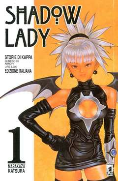 Copertina SHADOW LADY n.1 - SHADOW LADY 1, STAR COMICS