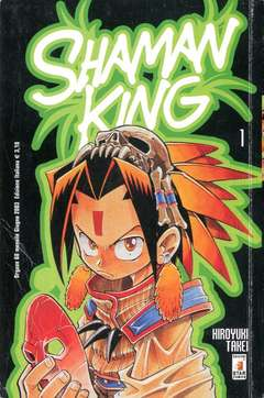 Copertina SHAMAN KING n.1 - SHAMAN KING 1, STAR COMICS