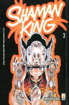 Copertina SHAMAN KING n.3 - SHAMAN KING 3, STAR COMICS