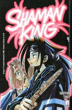 Copertina SHAMAN KING n.4 - SHAMAN KING 4, STAR COMICS