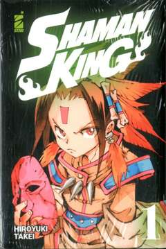Copertina SHAMAN KING FINAL EDIT. Pack n. - SHAMAN KING FINAL EDITION 1+2 + STIKERS, STAR COMICS