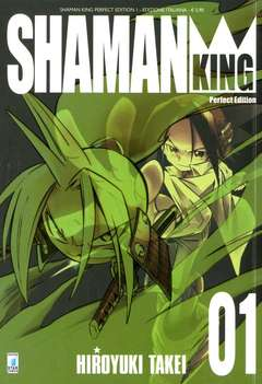 Copertina SHAMAN KING n.1 - SHAMAN KING PERFECT EDITION (m27), STAR COMICS