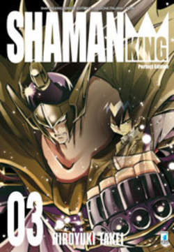 Copertina SHAMAN KING n.3 - SHAMAN KING PERFECT EDITION (m27), STAR COMICS