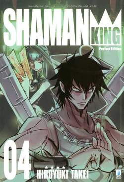 Copertina SHAMAN KING n.4 - SHAMAN KING PERFECT EDITION (m27), STAR COMICS