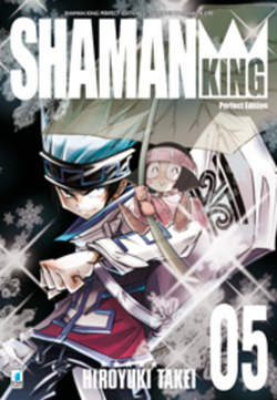 Copertina SHAMAN KING n.5 - SHAMAN KING PERFECT EDITION (m27), STAR COMICS