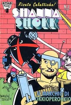 Copertina SHANNA SHOKK n.3 - IL MARCHIO DI OKKIOPEROKKIO, STAR COMICS