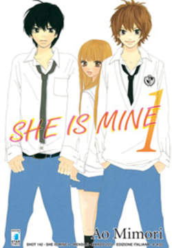 Copertina SHE IS MINE n.1 - SHE IS MINE (m2) 1, STAR COMICS