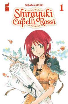 Copertina SHIRAYUKI DAI CAPELLI ROSSI n.1 - SHIRAYUKI DAI CAPELLI ROSSI 1, STAR COMICS