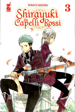 Copertina SHOT n.240 - SHIRAYUKI DAI CAPELLI ROSSI 3, STAR COMICS