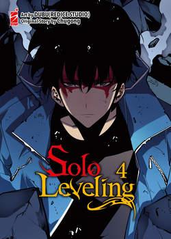 Copertina SOLO LEVELING n.4 - MANHAWA 75, STAR COMICS