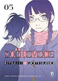Copertina SOTTOVOCE n.5 - SOTTOVOCE - SASAMEKE 5 (m5), STAR COMICS