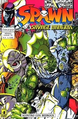 Copertina SPAWN & SAVAGE DRAGON n.4 - SPAWN & SAVAGE DRAGON        4, STAR COMICS