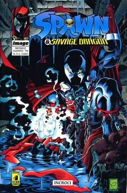 Copertina SPAWN & SAVAGE DRAGON n.5 - SPAWN & SAVAGE DRAGON        5, STAR COMICS
