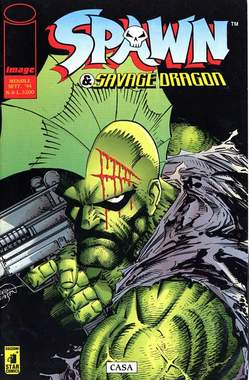 Copertina SPAWN & SAVAGE DRAGON n.6 - SPAWN & SAVAGE DRAGON        6, STAR COMICS
