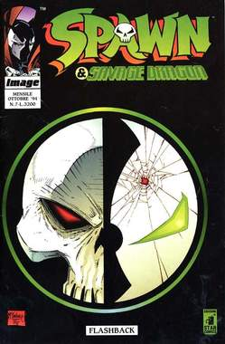 Copertina SPAWN & SAVAGE DRAGON n.7 - SPAWN & SAVAGE DRAGON        7, STAR COMICS