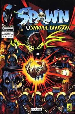 Copertina SPAWN & SAVAGE DRAGON n.8 - SPAWN & SAVAGE DRAGON        8, STAR COMICS